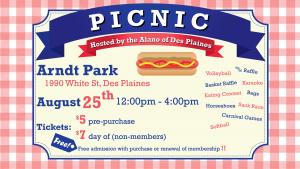 Alano of Des Plaines Annual Picnic! @ Arndt Park | Des Plaines | Illinois | United States