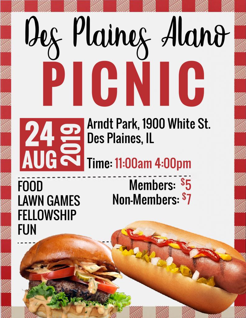 Annual Picnic @ Arndt Park